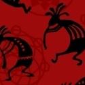 Windham Fabrics Mesa - Red Kokopelii