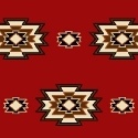 Windham Fabrics Mesa - Red Medallion