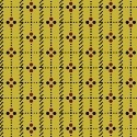 Red and Black Dot Grid on Yellow:  Jamestown by Nancy Gere for Windham Fabrics