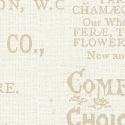Bookshelf Botanical Cream