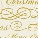 Deck the Halls Merry Christmas Cream