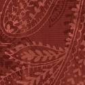 """108"""" Paisley 50663-9 Red"""