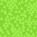 Triangles - Green Flannel