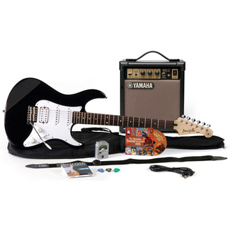 Yamaha Gigmaker BLK Electric Guitar Pack (Black)