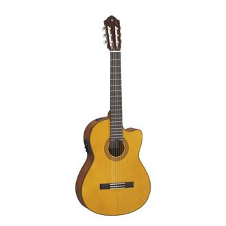 CGX122MCC Acoustic electric Solid Cedar top Classical yamaha guitar