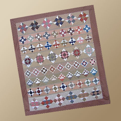 Civil War March Quilt Pattern by Yellow Creek Designs