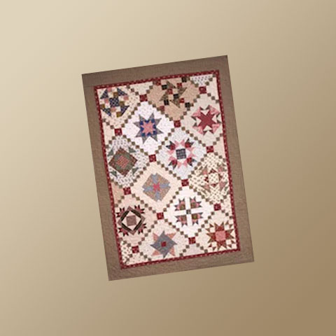 Charity Rose 6 Quilt Pattern by Yellow Creek Designs