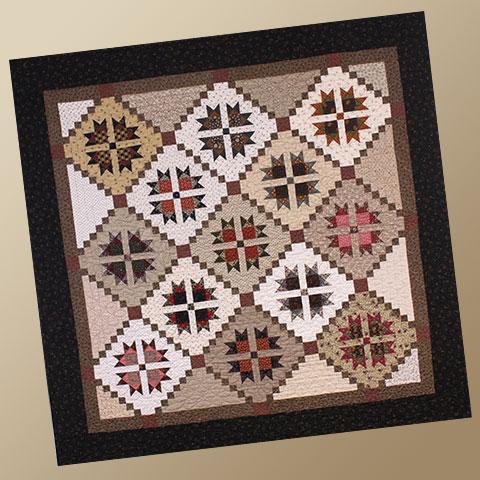 Edna Jane Quilt Pattern by Yellow Creek Designs