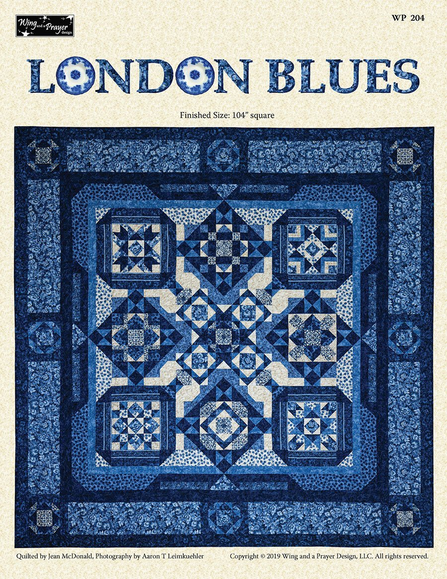 London Blues Block of the Month starts October 2020