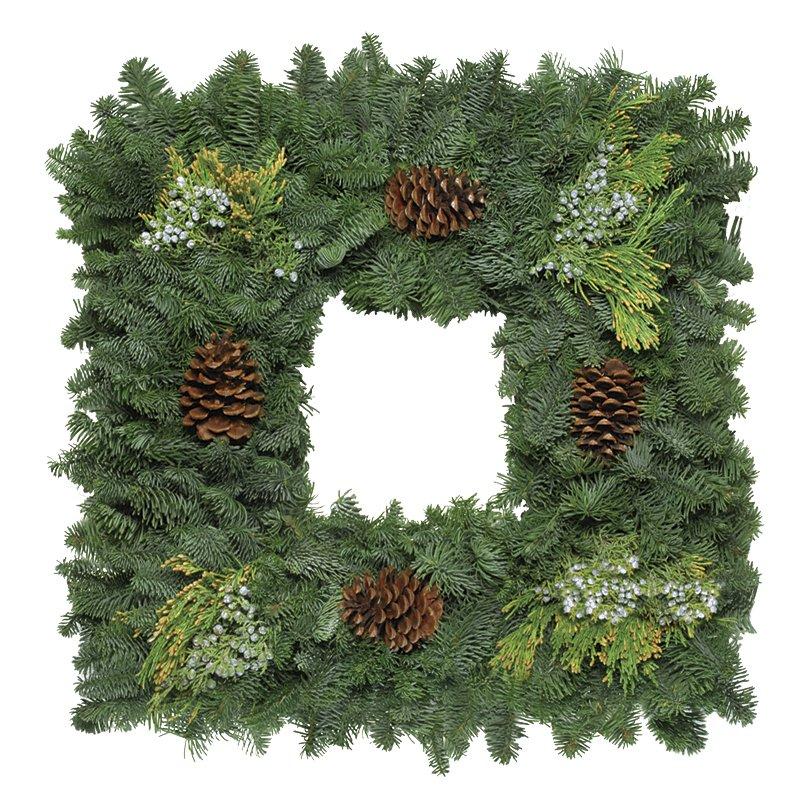 22 Square Wreath